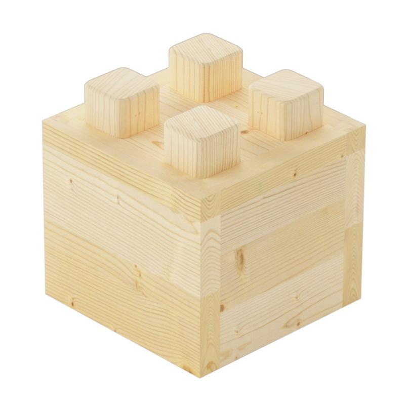 The ½-piece brick